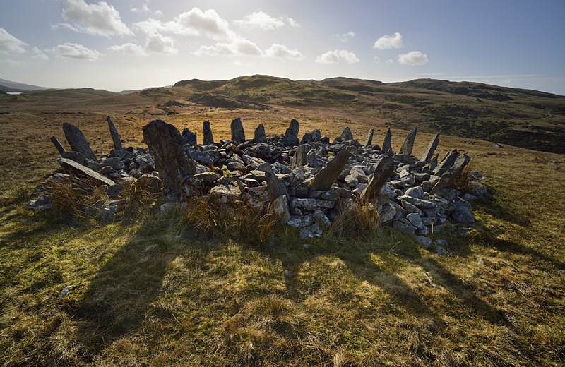 Bryn Cader Faner, about 4,000 years old - Rural