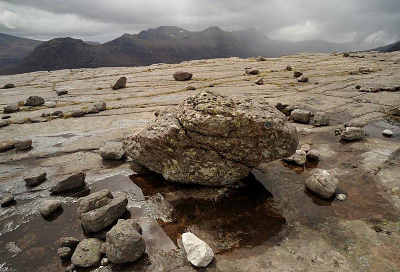 squall, Beinn Alligin - Mountains