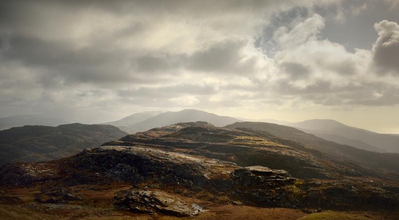 Craig Ddrwg, Rhinogydd - Mountains