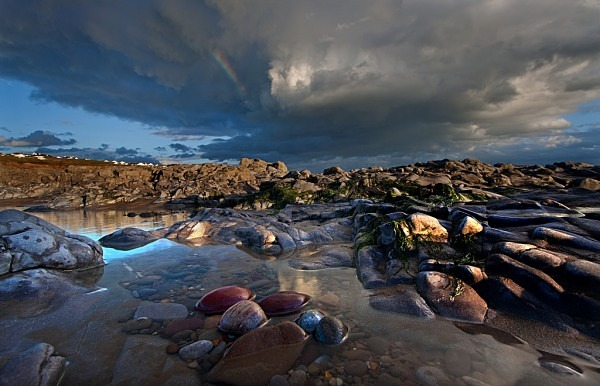 Rocks and clouds - The Glamorgan Heritage Coast