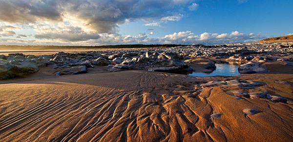 Ripples in the sand - The Glamorgan Heritage Coast