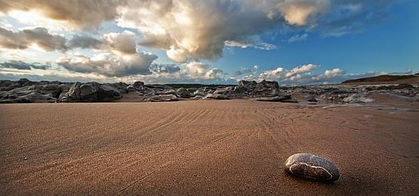 Lonely Pebble - The Glamorgan Heritage Coast