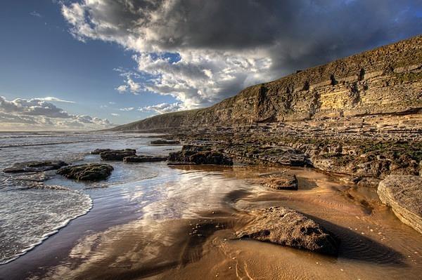 Dunraven Bay looking east - The Glamorgan Heritage Coast