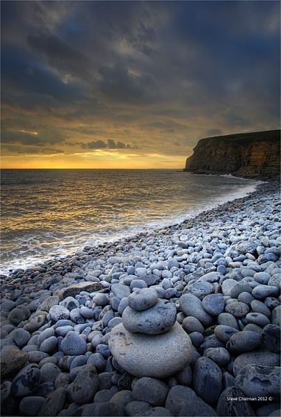 Pebble beach - The Glamorgan Heritage Coast