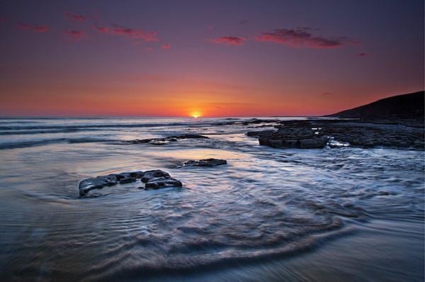Dunraven Sunset - The Glamorgan Heritage Coast