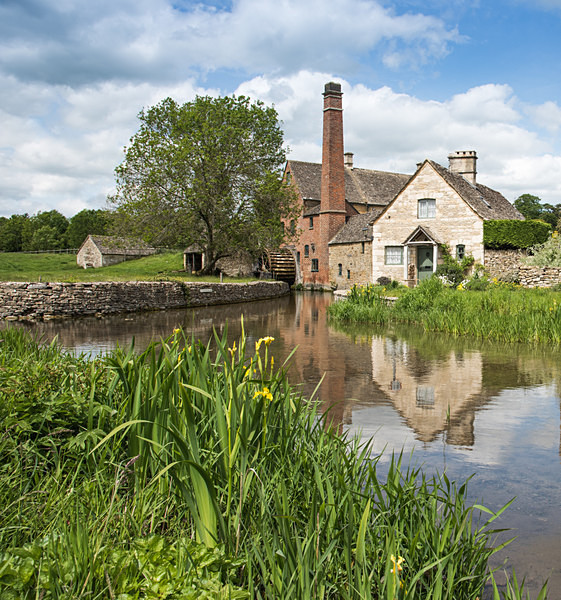 Lower Slaughter Mill by Sarah Howard - Cotswolds