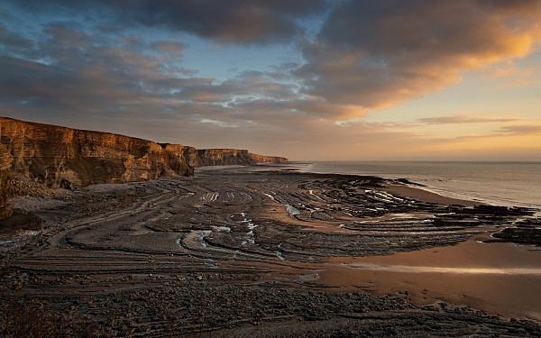 Sunset, Traeth Mawr - The Glamorgan Heritage Coast