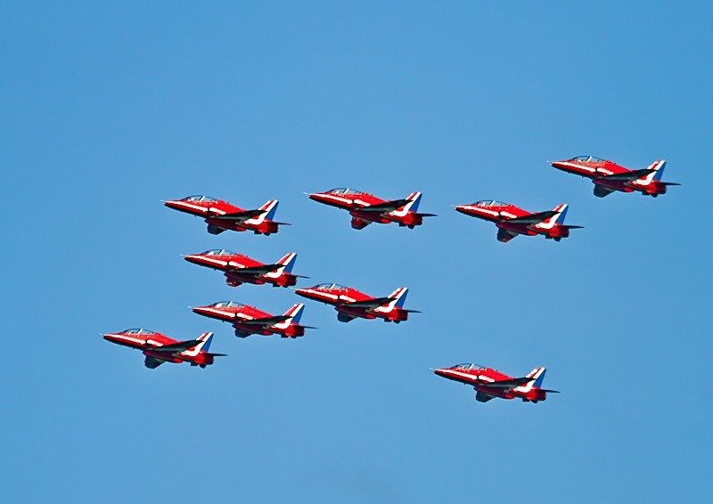 002 - Red Arrows Display