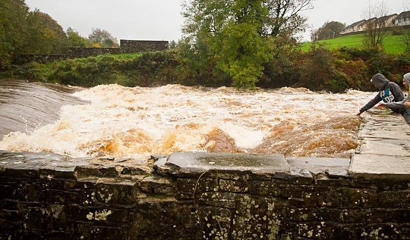 Lovers Retreat Falls - October 2011 Floods