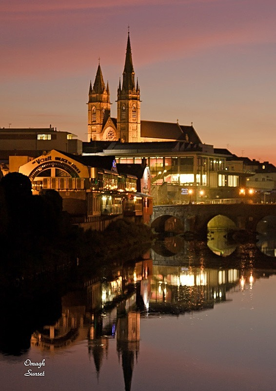 Omagh Sunset- - Local Scenes