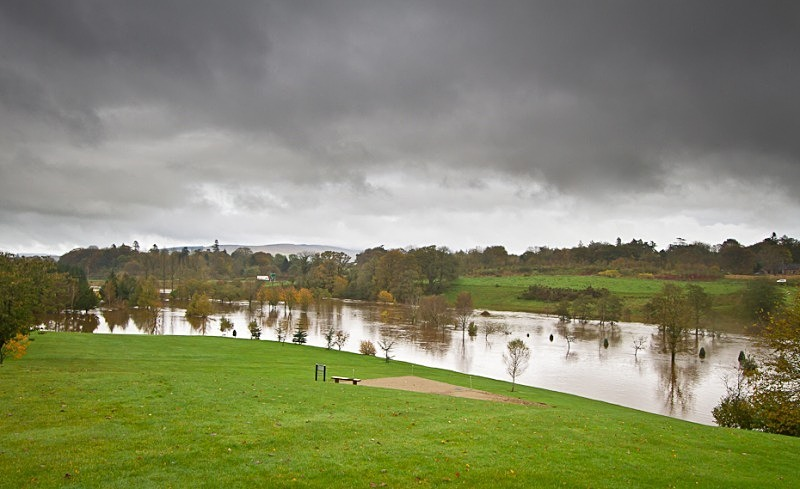 Third Hole - October 2011 Floods
