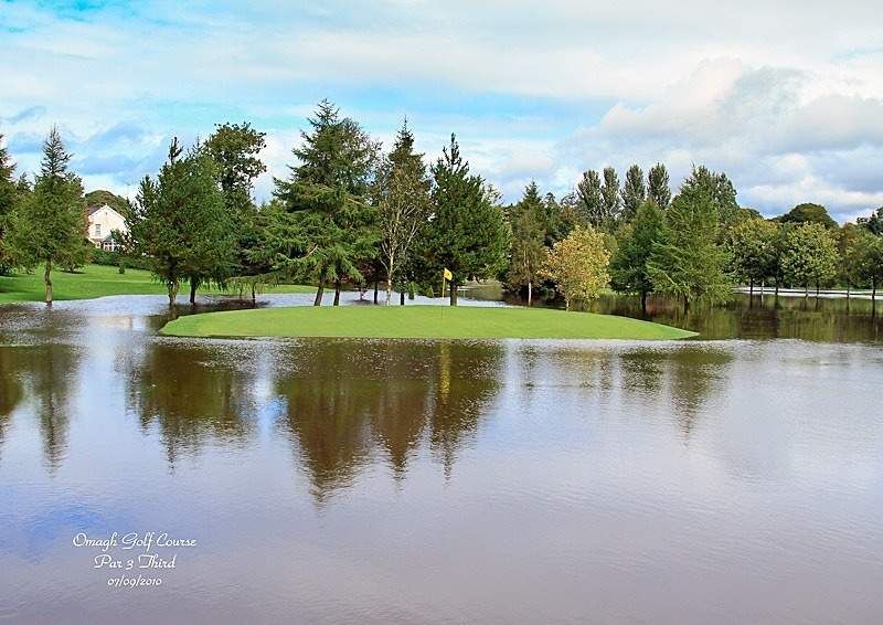 Golf Course Flooded - Local Scenes