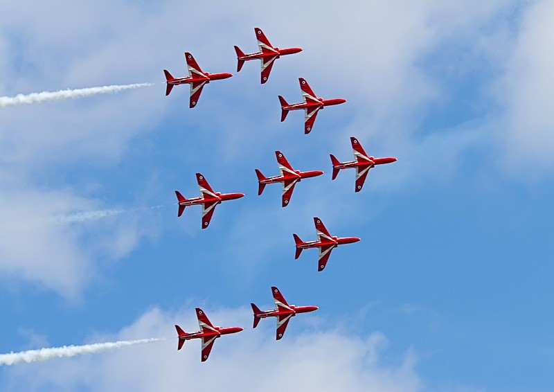 005 - Red Arrows Display