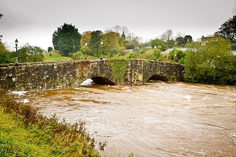 St. James Bridge - October 2011 Floods