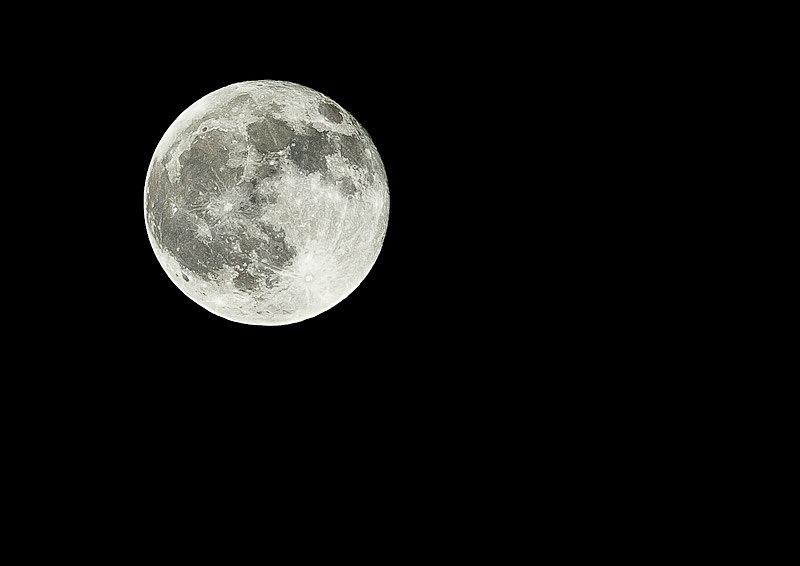 Full Moon- - Local Scenes
