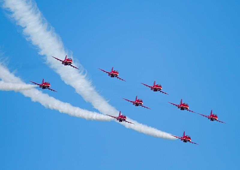 003 - Red Arrows Display