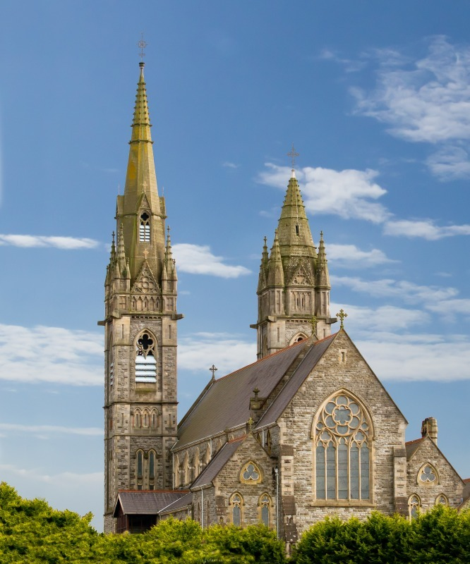 Sacred Heart from Derry Road-2 - Local Scenes