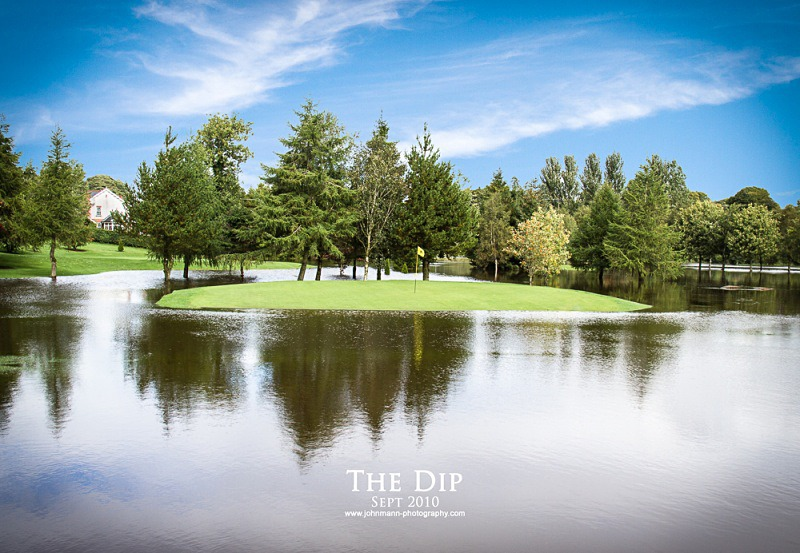 The Dip flood - Omagh Golf Course
