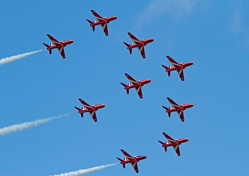 004 - Red Arrows Display