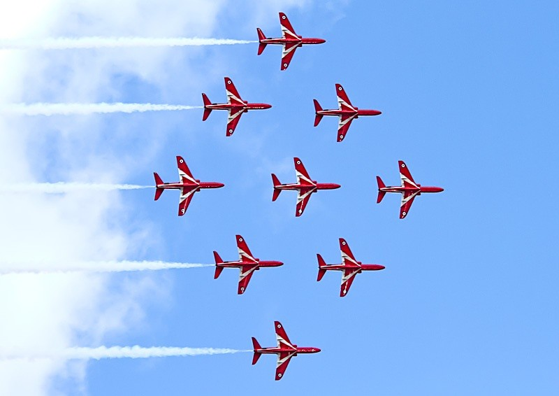 010 - Red Arrows Display