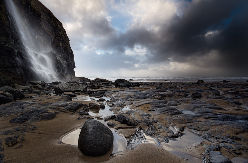 Druidstone Beach, Pembrokeshire, Wales