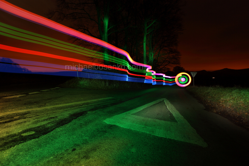 light graffiti, michael bosanko, light painting, light sculpting