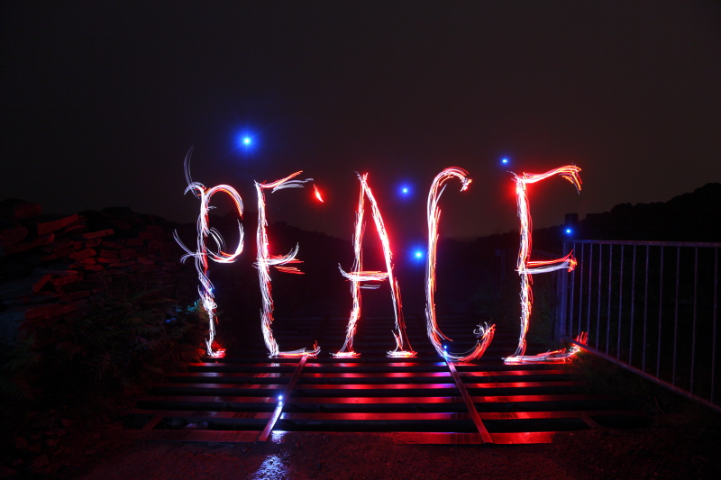 Peace - Font/Logo
