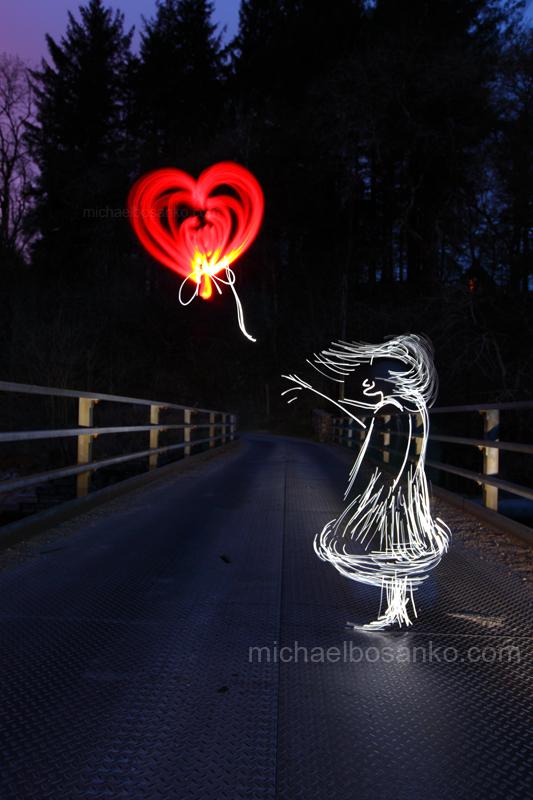 Illuminating Banksy's The Balloon Girl - Illuminating artists