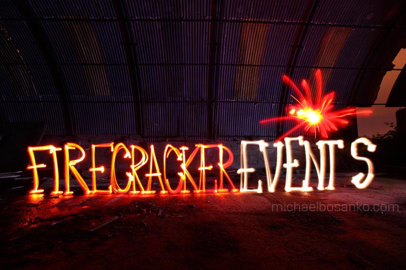 Firecracker Events - Font/Logo