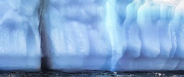 ICEBERG PANO - GREENSPOND - NEWFOUNDLAND