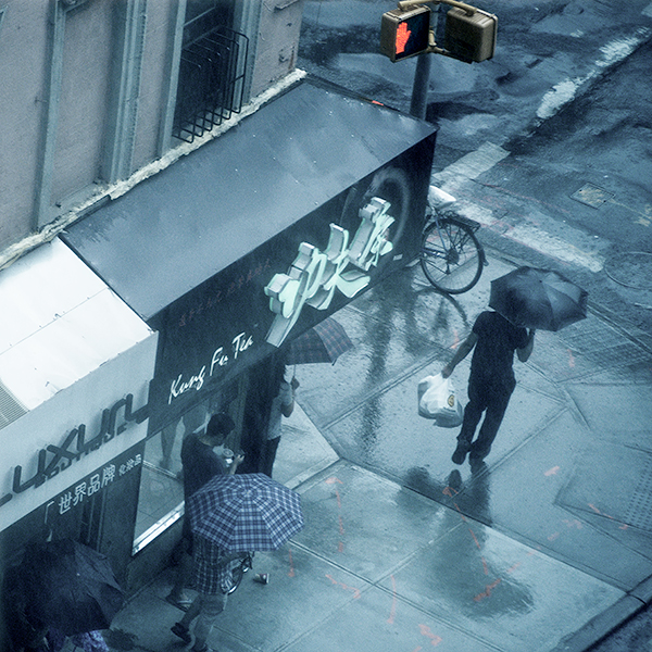RAIN #4 - NYC, 2014 - PHOTO STORAGE