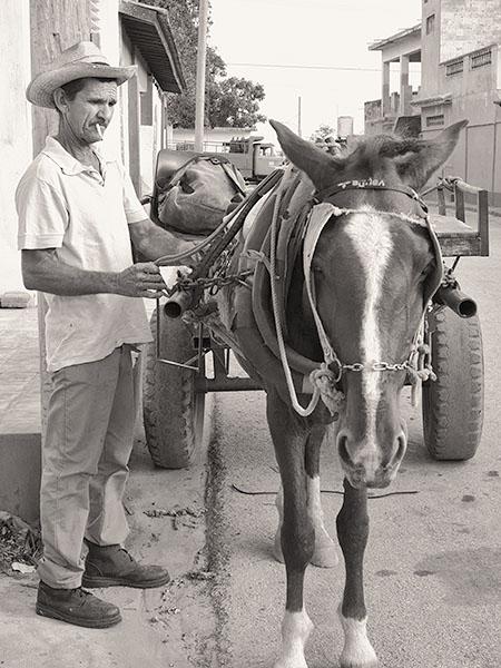 HORSEMAN - TRINIDAD DE CUBA - CUBA