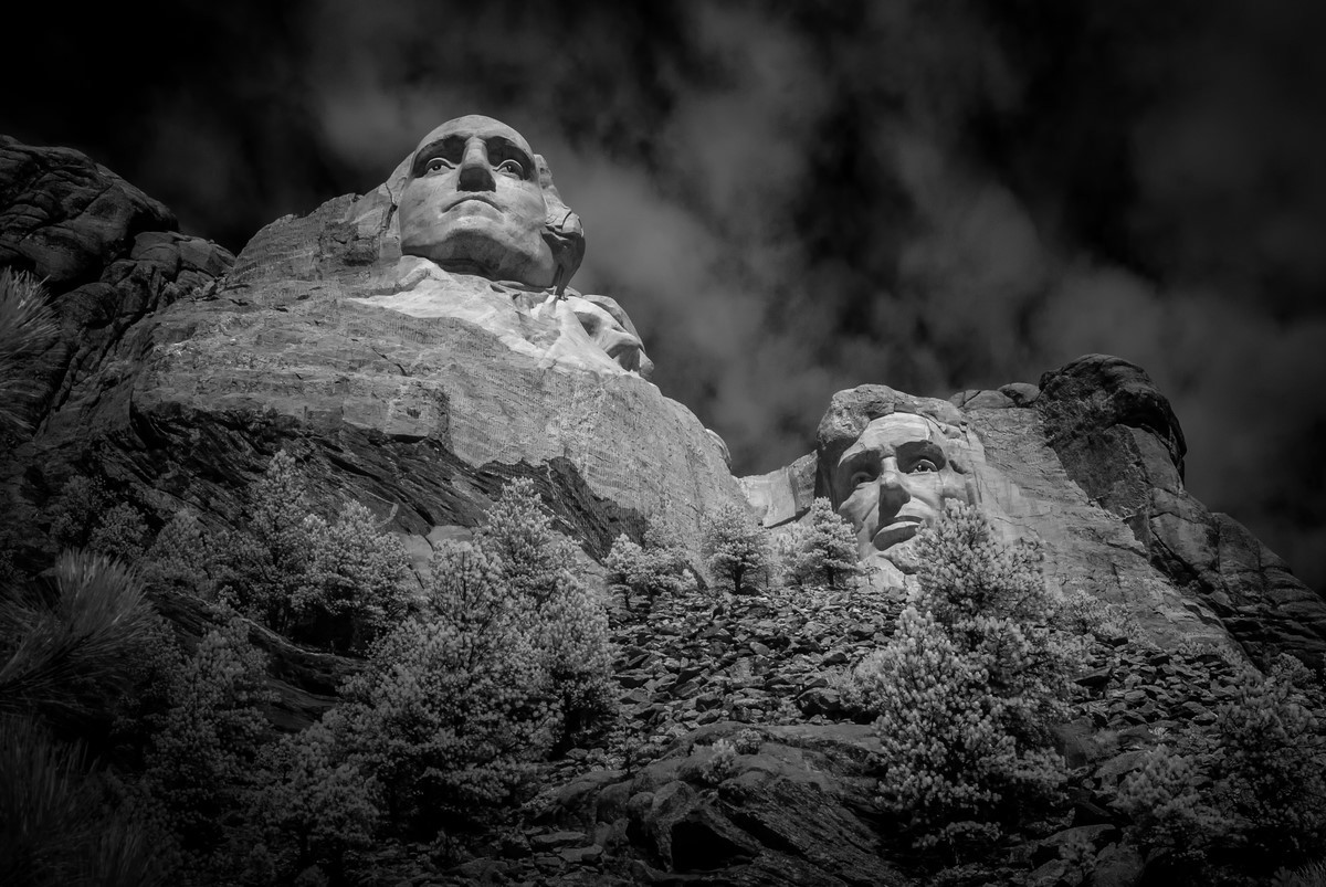 Rushmore - Fine Art Black and White - Various Locations