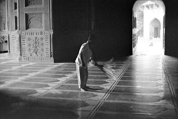 The Sweeper (At Agra) - Selected Images