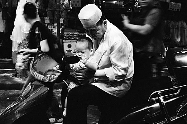 Grandfather and Grandson (Beiyuanmen Muslim Market) - Selected Images