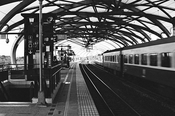 Train Station (Yilan) #6 - Selected Images