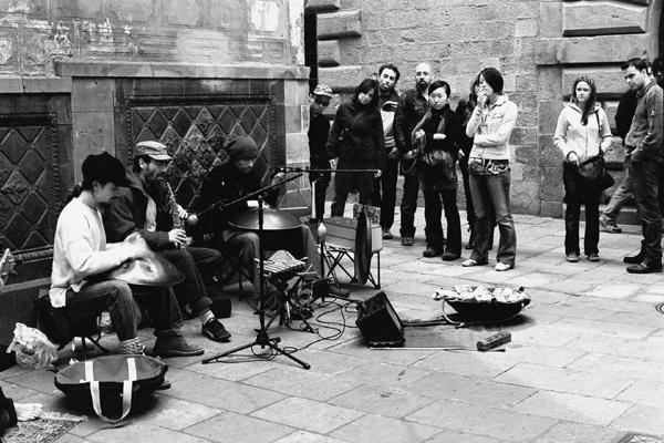 Street Musicians (Barcelona) - People