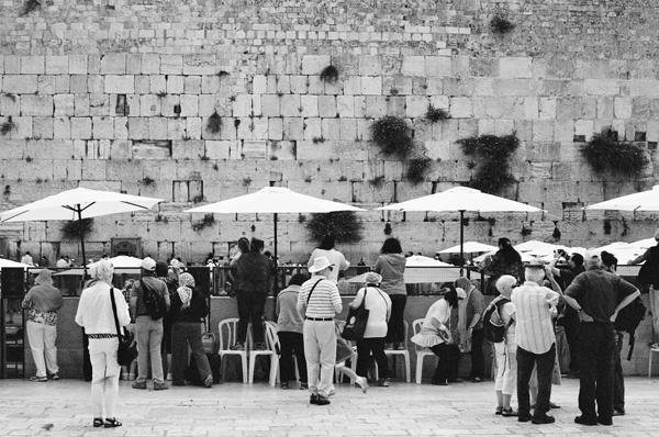 Kotel (Jerusalem 2014) #1 - People