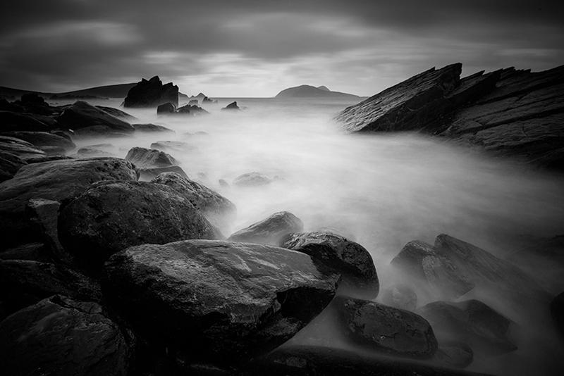 Blasket Islands 5 - Black and White