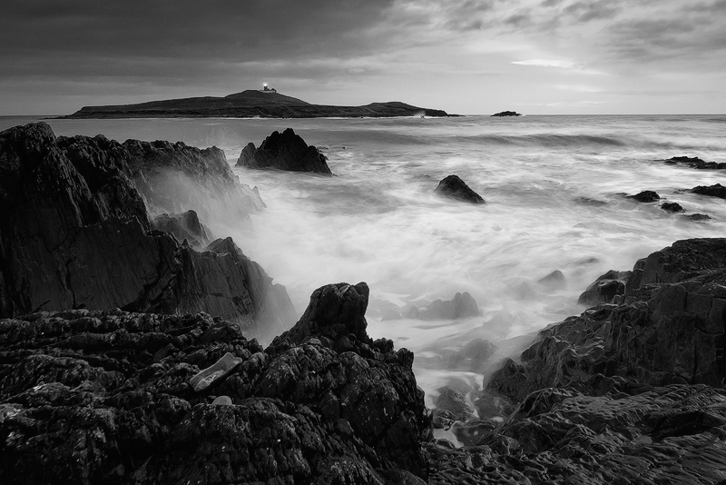 Ballycotton 8 - Black and White