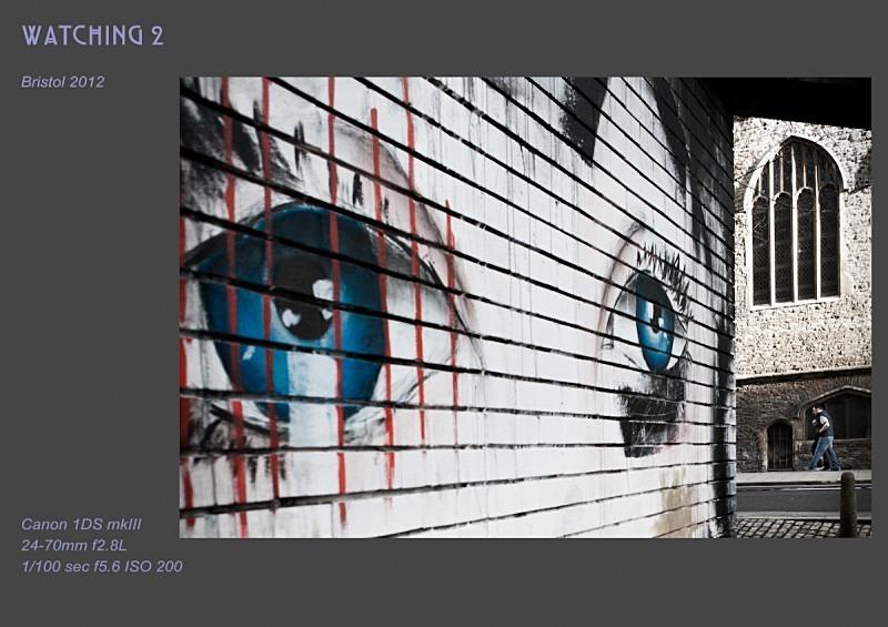 watching 2 - Street Art & Graffiti