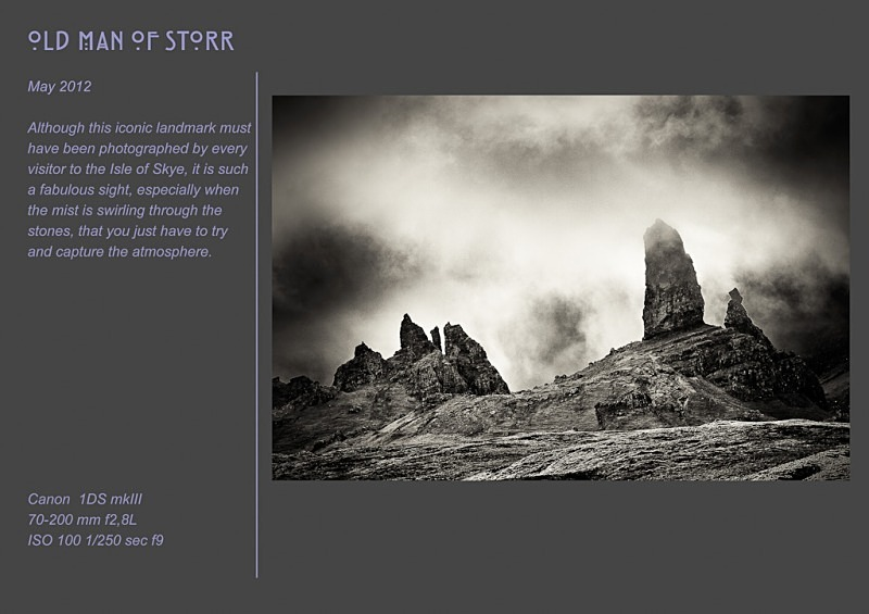 old man of storr - Land & Sea
