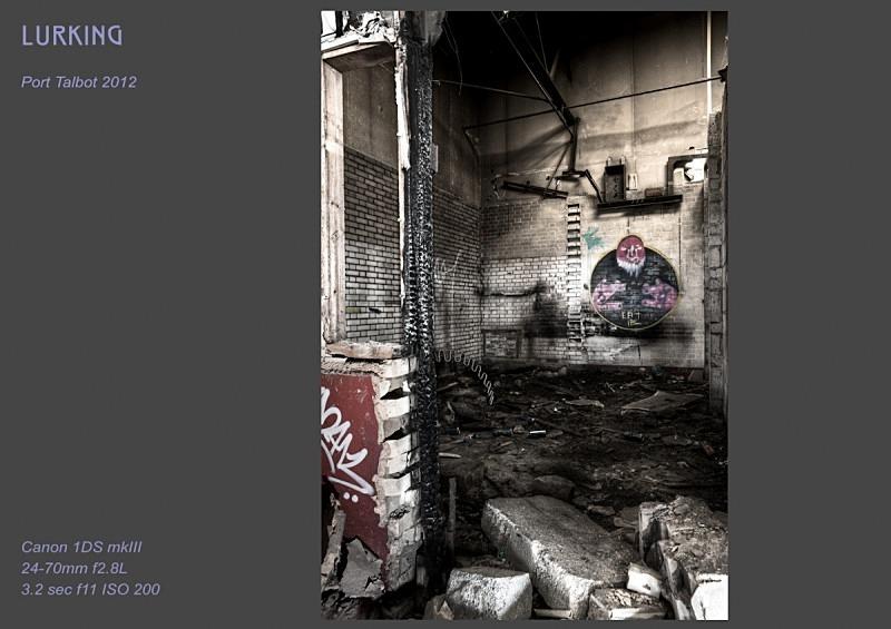 Lurking - Street Art & Graffiti