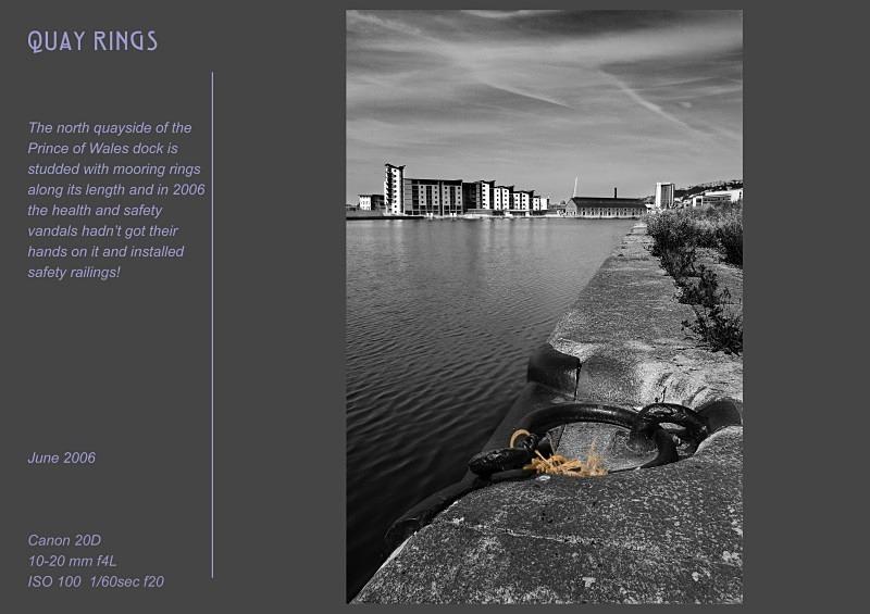 quay rings - Swansea SA1