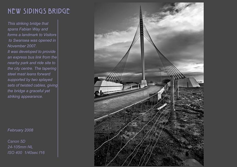 new sidings - Swansea SA1