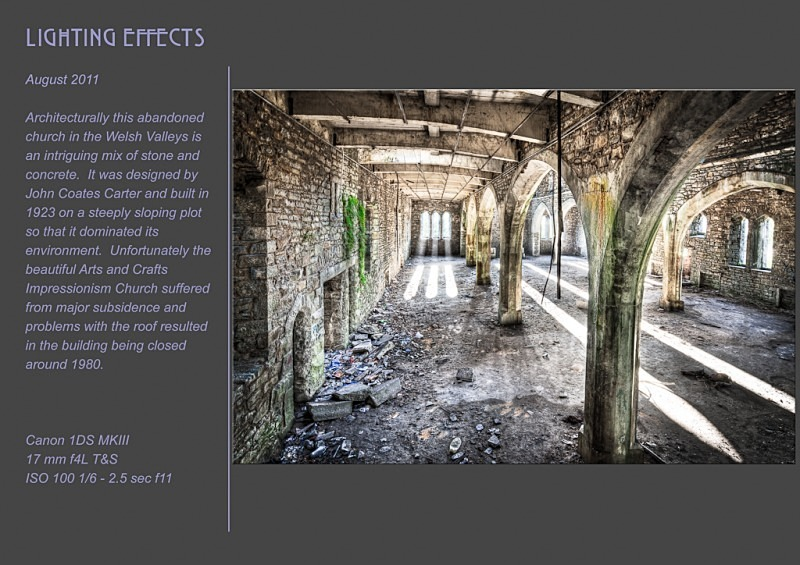 Lighting effects - Abandoned & Discarded