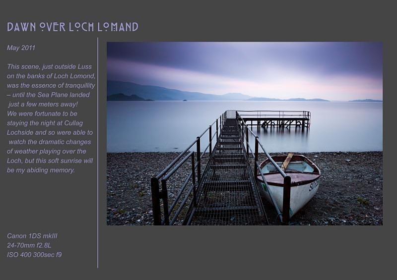 loch lomond - Land & Sea