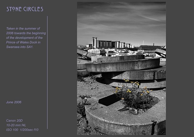 stone circles - Swansea SA1