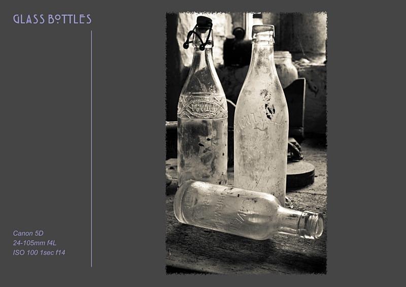 glass bottles - Fine Art & Still Life