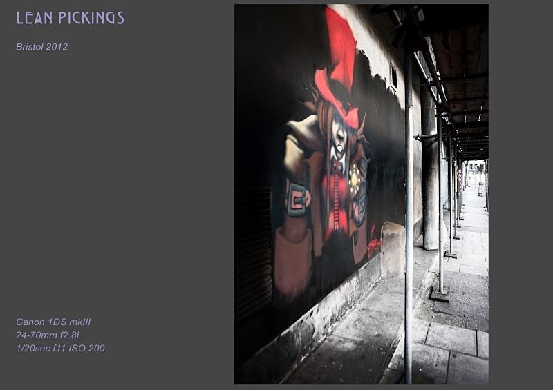 lean pickings - Street Art & Graffiti